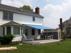 Retractable awnings for homes hampton roads