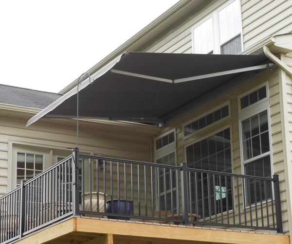 Retractable awnings for home porch awnings window awnings for Glass awnings for home