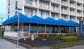 commercial awnings Virginia Beach