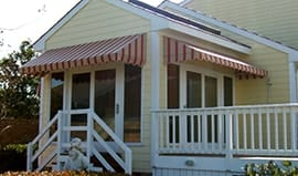 residential awnings in Chesapeake, Williamsburg, VA