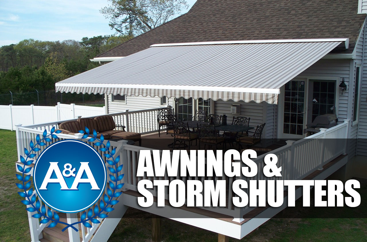 Awnings Storm Shutters A Amp A Awnings Virginia Beach Va